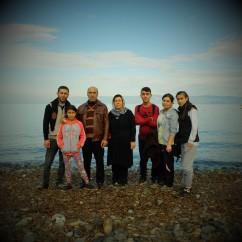 0005Mohamed y Raffa con sus hijos e hijas Masoud, Silva, Selma, Inois y Haula, son de la ciudad de Hasakah
