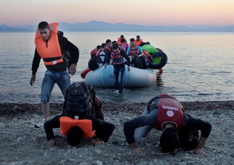 refugiados la odisea hacia Europa
