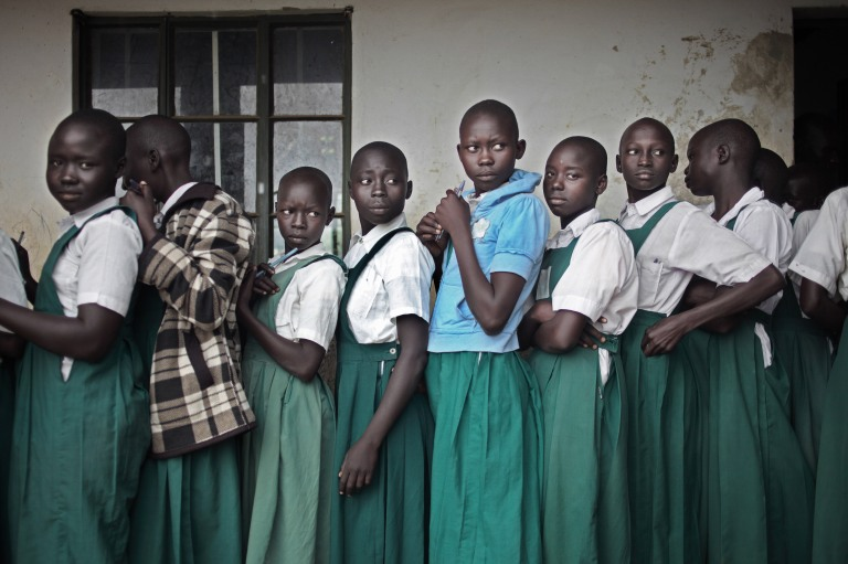 South Sudan:Kajo Keji:sanitary kits©Sergi Cámara:Entreculturas:JRS27